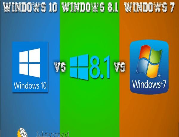 ویندوز ۱۰ بهتر است یا ۸ یا ۷ ؟